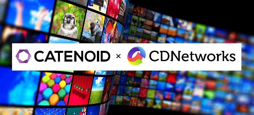 CDNetworksとCATENOIDが協業し、企業の動画/ライブ配信をサポートする特別プランを発表
